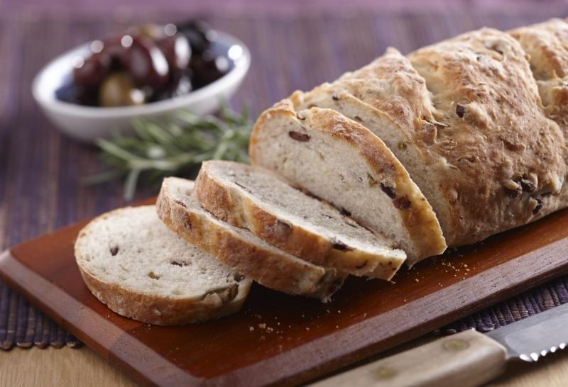 Kalamata Olive and Rosemary Sourdough Bread